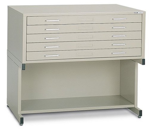Mayline High Base For 43 Inch C Flat File White
