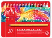 Caran D'Ae Supracolor Soft Water Soluble Color Pencils 30 Set