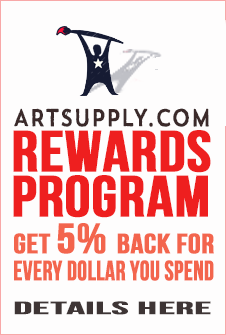 Artsupply discount rewards program for customers