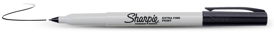 Sharpie Marker Twin Tip Black