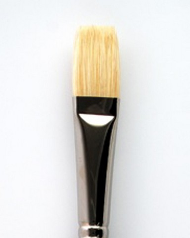 Silverstone Hog Bristle Long Handle Flat 1