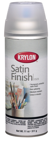 Satin Finish Spray 11oz