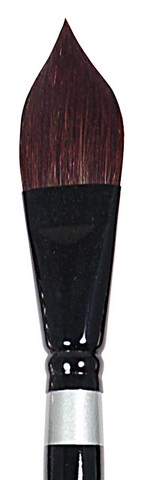 Black Velvet Blend Watercolor SH Oval WaSH 3/4 Inch