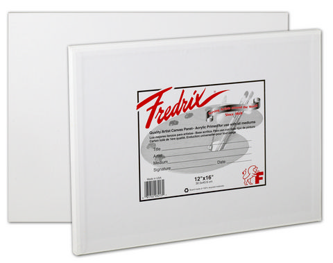 Fredrix Artist Series Canvas Panels 12X12 3 Pack