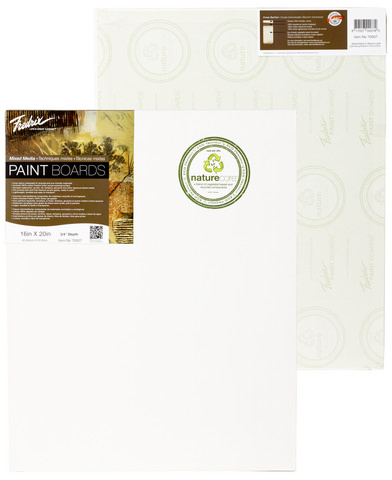 Pack Of 6 Fredrix Pro Series Mixed Media Painting Board 18 X 24