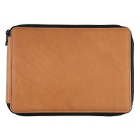 Leather Pencil Case Saddle Brown by Global Art Materials