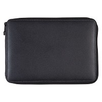 Leather Pencil Case Black by Global Art Materials