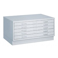 Closed Base for Small Flat File by Safco Fácil