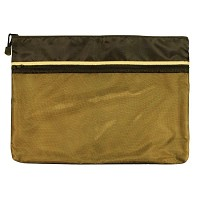 "12"" x 16"" Dual Zippered Pocket Fabric Mesh Bag by Alvin"