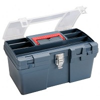 Medium Art Blue Tool Box by Heritage Arts