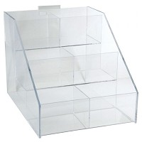 Acrylic Rack 6 Sections by Generic