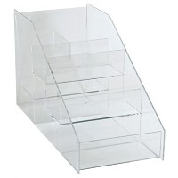 Acrylic Rack 5 Sections by Generic
