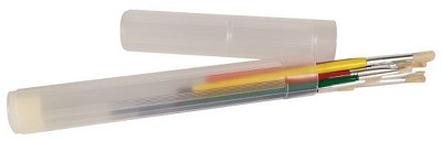 "Plastic Telescoping Brush Tube 9"" to 14"" by Heritage Arts"