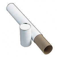 "White Fiberboard Tube 3"" I.D. x 25"" by Alvin"