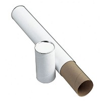 "White Fiberboard Tube 3"" I.D. x 43 by Alvin"