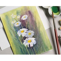 5 x 6.875 Watercolor Cards and Postcards 10-Pack