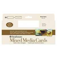 Mixed Media Slim Size Cards 10-Pack