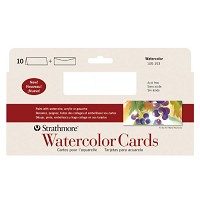 Slim Size Watercolor Cards 3.75