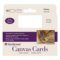 Announcement Size Canvas Cards 3.5