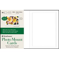 Embossed Photo Mount Cards 50-Pack