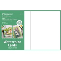 5 x 6.875 Watercolor Cards and Postcards 100-Pack