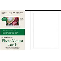 Embossed Photo Mount Cards 100-Pack