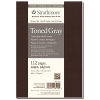 Soft Cover Toned Gray Sketch Journal 5.5
