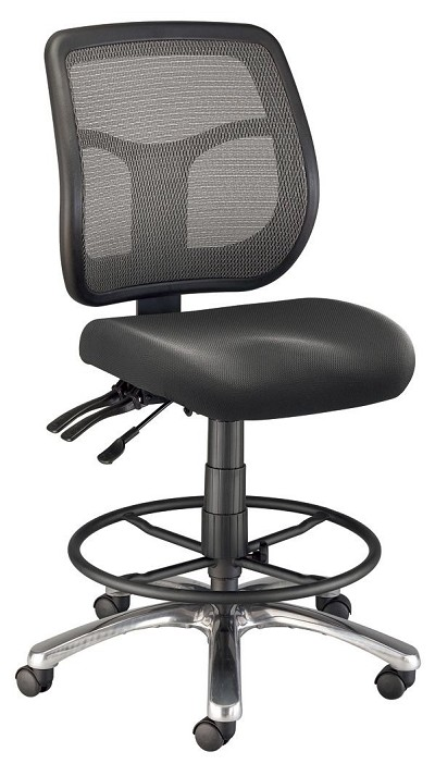 Argentum Mesh Drafting Chair
