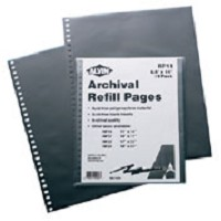 Refill Pages 8.5 X 11 10 pack