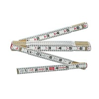 Lufkin 6 Foot Red End Folding Ruler