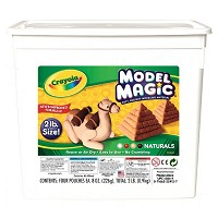 Crayola Model Magic Resalable Bucket 2lb Natural