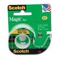 Scotch Magic 3/4 inch x 300 inch Tape