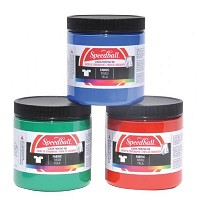 Speedball 8 oz. Fabric Screen Printing Ink Green
