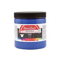 Speedball 8 oz. Fabric Screen Printing Ink Blue