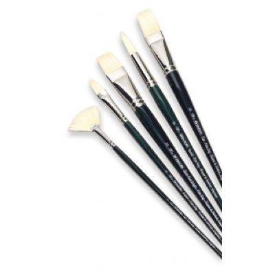 Winsor & Newton Winton Bright Long Handle Brush #8