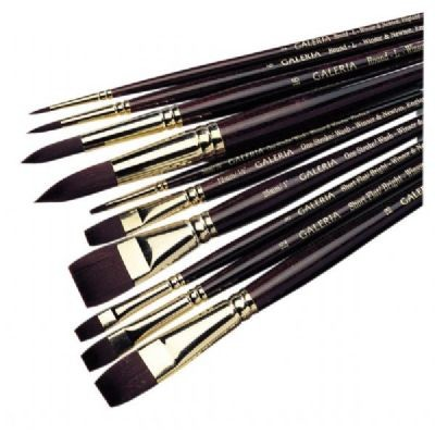 Winsor & Newton Galeria Round Short Handle Brush #5