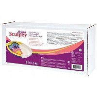 Sculpey Original Oven Bake White Clay 8 lb.