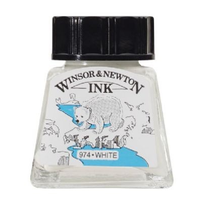 Winsor & Newton Drawing Ink 14ml White