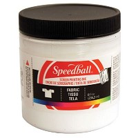 Speedball 8 oz. Fabric Screen Printing Ink White