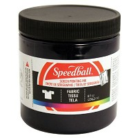 Speedball 8 oz. Fabric Screen Printing Ink Denim