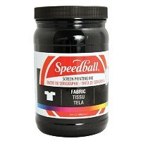 Speedball Fabric Screen Printing Ink Black