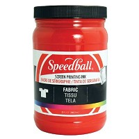 Speedball Fabric Screen Printing Ink Red