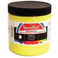 Speedball 8 oz. Acrylic Screen Printing Ink Primrose Yellow