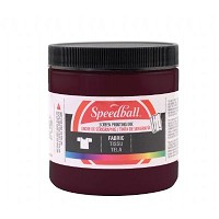 Speedball 32 oz. Fabric Screen Printing Ink Burgundy