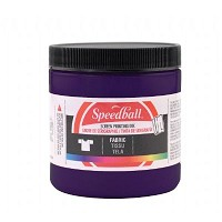 Speedball 8 oz. Fabric Screen Printing Ink Violet
