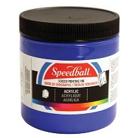 Speedball 8 oz. Acrylic Screen Printing Ink Violet
