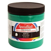 Speedball 8 oz. Acrylic Screen Printing Ink Peacock Blue