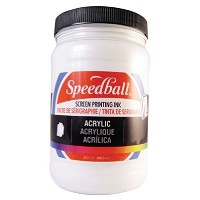 Speedball Acrylic Screen Printing Ink White 32oz