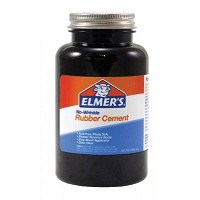 Elmer's No-Wrinkle Rubber Cement 8oz