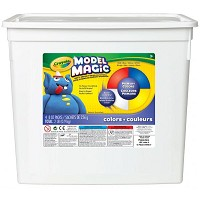 Crayola Model Magic Resalable Bucket 2lb Primary